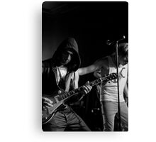Live Band Canvas Print