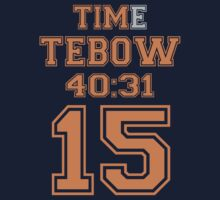Time Tebow by mrtdoank