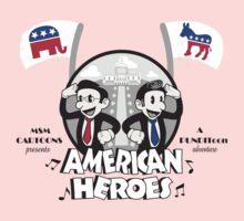 American Heroes One Piece - Long Sleeve