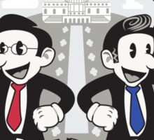 American Heroes Sticker