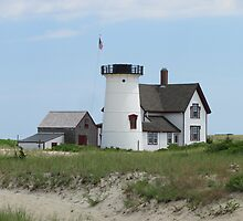 lighthouse at cape cod by Kay Reynolds