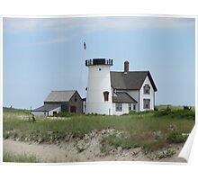 lighthouse at cape cod Poster
