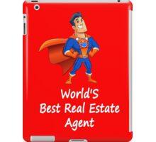 World'S Best Real Estate Agent Superhero iPad Case/Skin