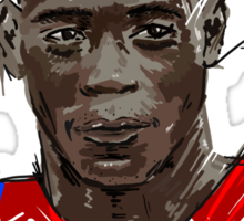 Super Mario Balotelli Sticker