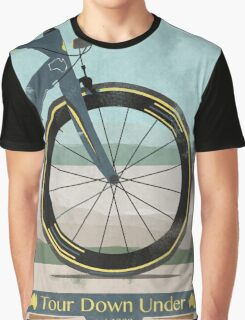 Tour Down Under Bike Race Graphic T-Shirt