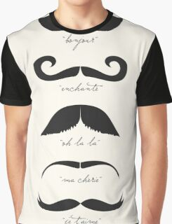 Monsieur Moustache Graphic T-Shirt