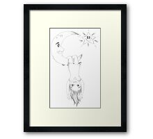 PENCIL ART - Our Soul Wasn't Created For Limitations Framed Print