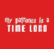 My Patronus is a Time Lord Kids Tee