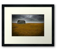 Prairie Monolith Framed Print