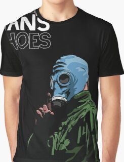 Dead Man's Shoes Comic Style Illustration Graphic T-Shirt