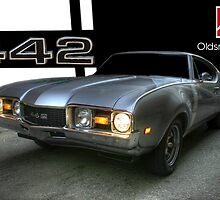 1968 Cutlass 442 (Horizontal) by jphphotography