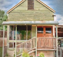 A Cottage in Bethanga by Linda Lees
