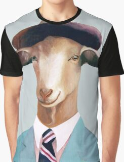 Goat Graphic T-Shirt