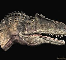 Acrocanthosaurus by Walter Colvin