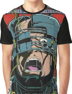 Robocop Comic Graphic T-Shirt