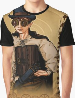 Steampunk Lady Graphic T-Shirt