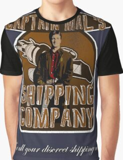 Captain Mal's Shipping Company Graphic T-Shirt