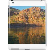 Last light on the rocks iPad Case/Skin