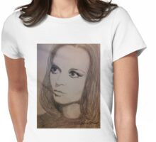 Natalie, Oh Womens Fitted T-Shirt