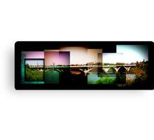 Bridge Collage Canvas Print