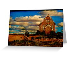 St. Carthage ~ Service for One Greeting Card