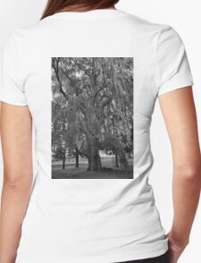 Old Man Willow Weeping  Womens Fitted T-Shirt