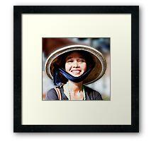 Vietnamese Style Framed Print