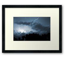 Wicked Skies Framed Print
