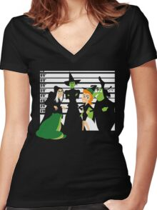 Which Witch? Women's Fitted V-Neck T-Shirt