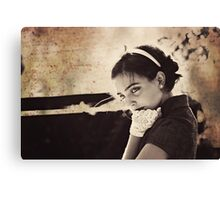 In Deep Thought Canvas Print