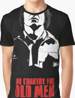 Anton Chigurh (Javier Bardem) No Country For Old Men  Graphic T-Shirt