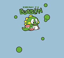 Everyday I'm Bubblin' Womens Fitted T-Shirt