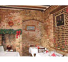 Tudor Dining Room Photographic Print