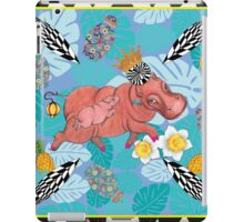 Royal Hippos by Ro London - Menagerie Collection iPad Case/Skin