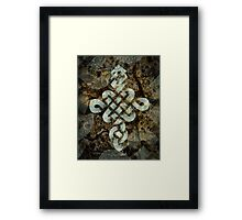 Chinese Luck Knot Framed Print