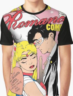Teen Soldier Romance Comics Graphic T-Shirt