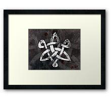 Celtic Knotwork -  197 v 3 Framed Print