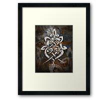 Celtic Knotwork - 199V Framed Print