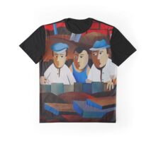 THREE MEN IN A TRENCH Graphic T-Shirt