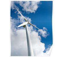 wind turbine Poster