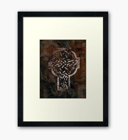 Celtic Knotwork - 204 Framed Print