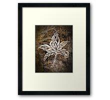 Celtic Knotwork - 212 Framed Print