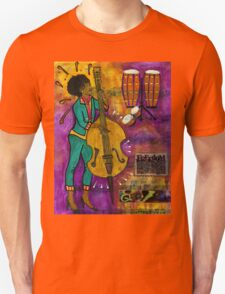 That Sistah on the Bass T-Shirt T-Shirt