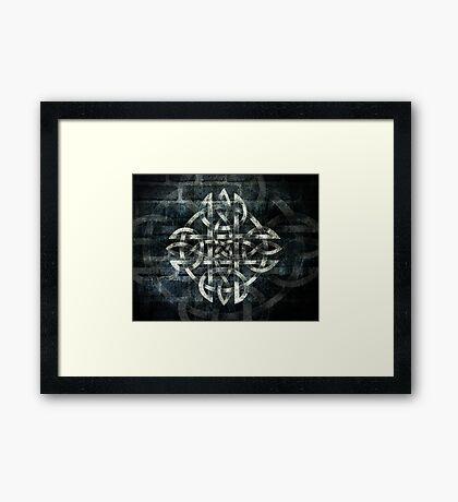 Celtic Knotwork - 213 Framed Print