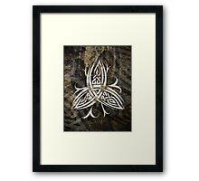 Celtic Knotwork - 211 Framed Print