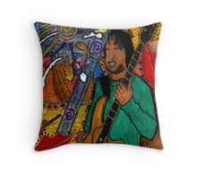 The Music Lover - Greeting Card Throw Pillow