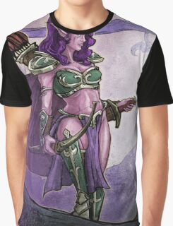 Elf Huntress Graphic T-Shirt