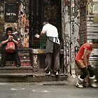 Streets of Melbourne 10 by Trish Woodford