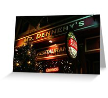Greenwich Village Christmas Greeting Card