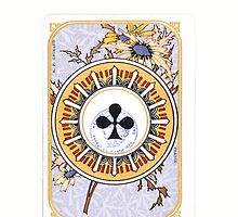 Vintage Club Playing Card by HighDesign